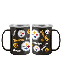 Pittsburgh Steelers 15oz. Sticker Ultra Mug