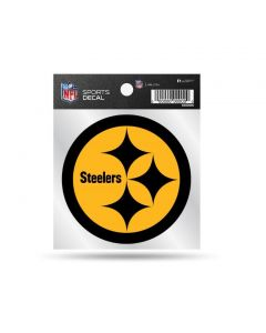 Pittsburgh Steelers Color Rush Black Hypocycloids Decal