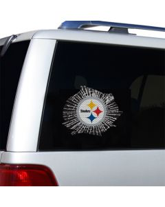 Pittsburgh Steelers Logo Shatter Small Decal