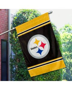 Pittsburgh Steelers One Sided Vertical House Flag