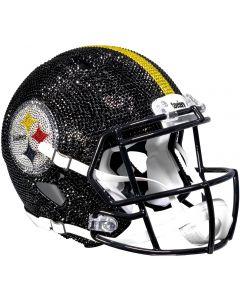 Pittsburgh Steelers Crystal Full Size Helmet