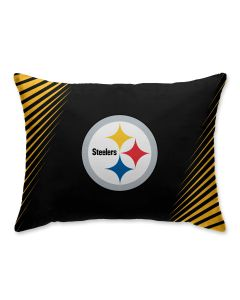 Pittsburgh Steelers Side Streak Pillow Case