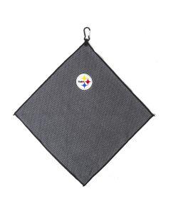 Pittsburgh Steelers Microfiber Charcoal Golf Towel