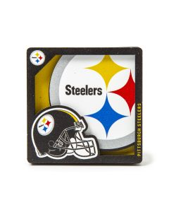 Pittsburgh Steelers 3D Logo Magnet