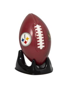 Pittsburgh Steelers Stress Football w/ Kicking Tee