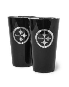 Pittsburgh Steelers Glacier Highball Glass - 2 pack