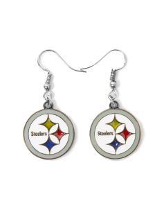 Pittsburgh Steelers Translucent Earrings