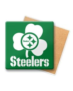 Pittsburgh Steelers Shamrock Coaster