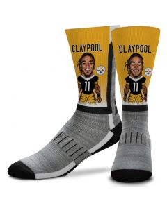 Pittsburgh Steelers Chase Claypool V-Curve Socks
