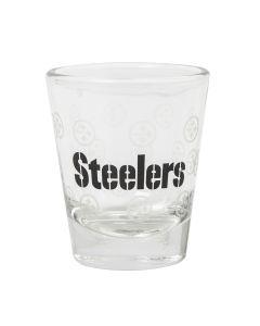 Pittsburgh Steelers 2oz. Satin Etch Shot Glass