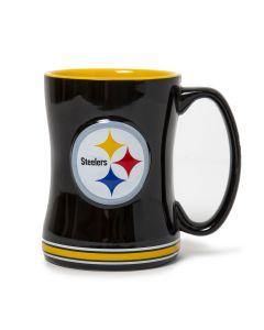 Pittsburgh Steelers 14oz. Relief Mug
