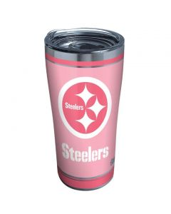 Pittsburgh Steelers 20oz. Tervis Pink Touchdown Tumbler