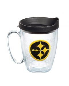 Pittsburgh Steelers 15oz. Tervis Color Rush Clear Coffee Mug