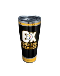 Pittsburgh Steelers 30oz. Tervis Legacy 6X Super Bowl Champs Tumbler