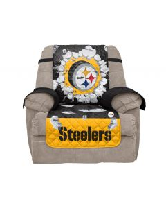Pittsburgh Steelers 3D Explosion Reversible Recliner Protector