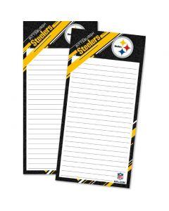 Pittsburgh Steelers Magnetic List Pad - 2 pack