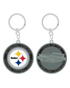 Pittsburgh Steelers Heinz Field Home of the Steelers Keychain
