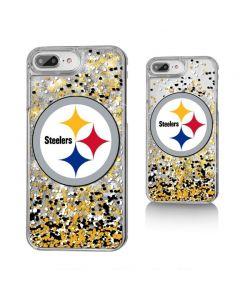 Pittsburgh Steelers Glitter Confetti iPhone Case