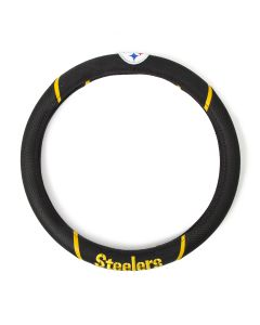 Pittsburgh Steelers Embroidered Logo Steering Wheel Cover