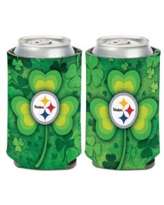 Pittsburgh Steelers All Over Shamrock Can Coolie