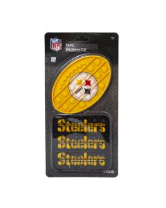 Pittsburgh Steelers Push-Itz Bubble Bops - 2 pack