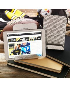 Pittsburgh Steelers Wendell August Forge Customizable Patterned Aluminum Tablet/Cookbook Holder