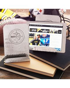 Pittsburgh Steelers Wendell August Forge Customizable Logo Aluminum Tablet/Cookbook Holder