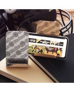 Pittsburgh Steelers Wendell August Forge Customizable Patterned Bronze Phone Holder