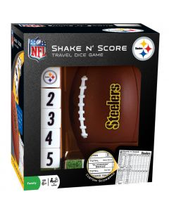 Pittsburgh Steelers Shake n' Score Travel Dice Game