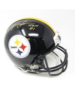 Pittsburgh Steelers #88 Lynn Swann Autographed with HOF Inscription Riddell ProLine Authentic Full Size Helmet