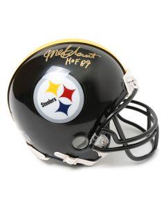 Pittsburgh Steelers #47 Mel Blount Autographed Riddell Mini Helmet