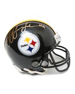 Pittsburgh Steelers #19 JuJu Smith-Schuster Autographed Riddell Mini Helmet