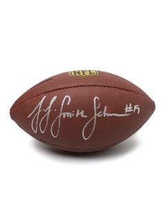 Pittsburgh Steelers #19 JuJu Smith-Schuster Autographed Wilson NFL 'The Duke' Replica Football