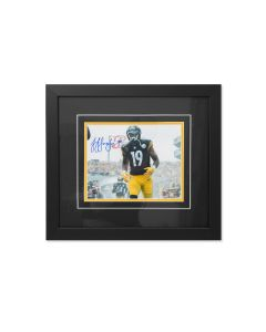 Pittsburgh Steelers #19 JuJu Smith-Schuster Entrance Signed Framed 8x10 Photo