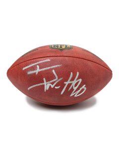 Pittsburgh Steelers #90 T.J. Watt Autographed Wilson NFL 'The Duke' Football