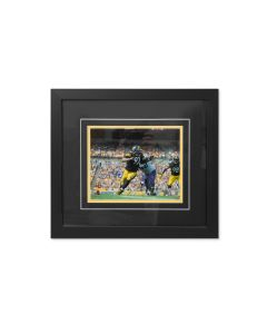 Pittsburgh Steelers #97 Cam Heyward Beating the End Signed Framed 8x10 Photo