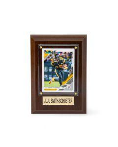 Pittsburgh Steelers #19 JuJu Smith-Schuster 4x6 Plaque
