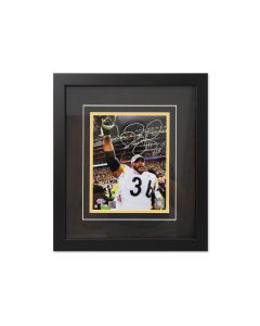 Pittsburgh Steelers #36 Jerome Bettis Celebration Signed Framed 8x10 Photo