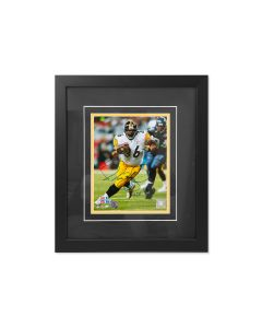 Pittsburgh Steelers #36 Jerome Bettis Run Signed Framed 8x10 Photo