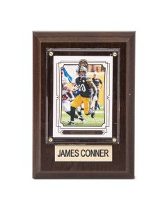 Pittsburgh Steelers #30 James Conner 4x6 Plaque