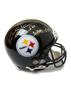 Pittsburgh Steelers #50 Ryan Shazier Autographed Riddell ProLine Authentic Full Size Helmet