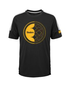 Pittsburgh Steelers Boy's Exclusive Feel the Rush Short Sleeve Tee