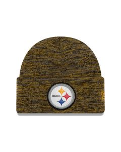 Pittsburgh Steelers New Era Bevel Cuff Knit Cap