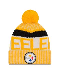 Pittsburgh Steelers New Era Reverse OTC Sport Knit Cap
