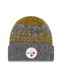 Pittsburgh Steelers New Era Layered Chill Knit Cap