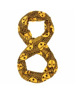 Pittsburgh Steelers Knit Infinity Aztec Repeat Scarf