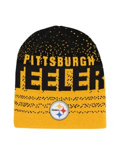 Pittsburgh Steelers Youth Gradient Cuffless Knit Hat