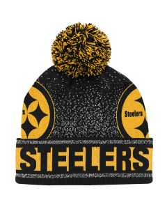 Pittsburgh Steelers Youth Gradient Cuffed Knit Hat