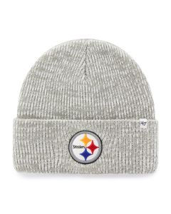 Pittsburgh Steelers '47 Brain Freeze Grey Knit Cap