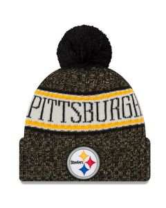 Pittsburgh Steelers New Era Youth Sideline Sport Knit Hat